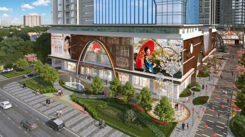 Dự án Hinode City được đánh giá cao nhờ vị trí đắc địa liền kề đường Minh Khai.