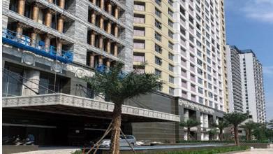 Dáng vẻ đường bệ, vững chãi đã được định hình trong cấu trúc tổng thể của công trình.