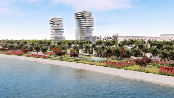 Phối cảnh phân khu Coco Paradise thuộc dự án Sentosa Riverside 2.