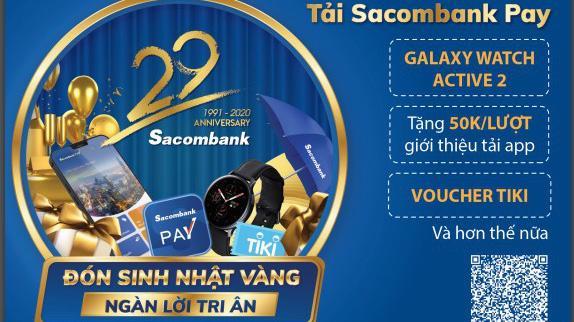 Sacombank Pay - ứng dụng di động được phát triển bởi ngân hàng Sacombank, là một công cụ tích hợp được hầu hết khả năng đáp ứng các nhu cầu về tài chính của người tiêu dùng.