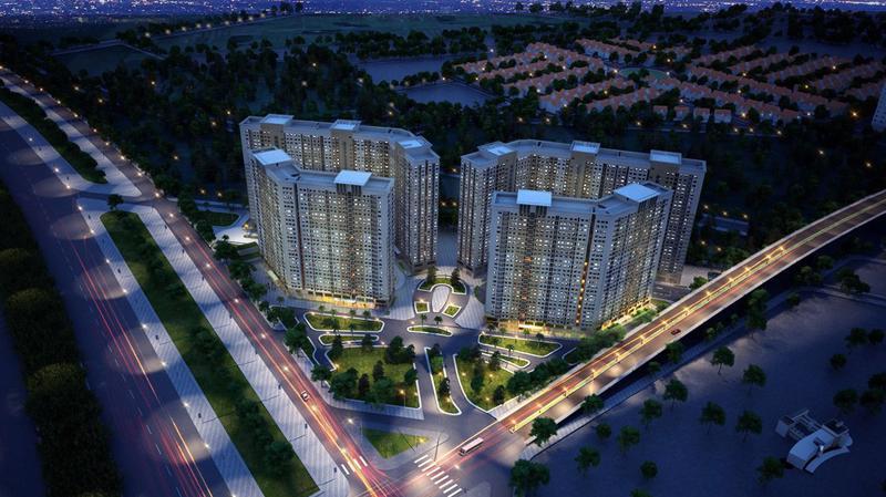 Phối cảnh dự án Xuân Mai Complex.