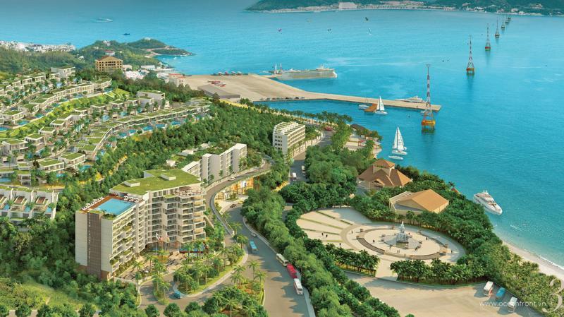 Dự án Anh Nguyễn Ocean Front Nha Trang có diện tích 11,6 ha nằm cạnh mặt đường lớn Trần Phú, nơi khu vực có hạ tầng đồng bộ.