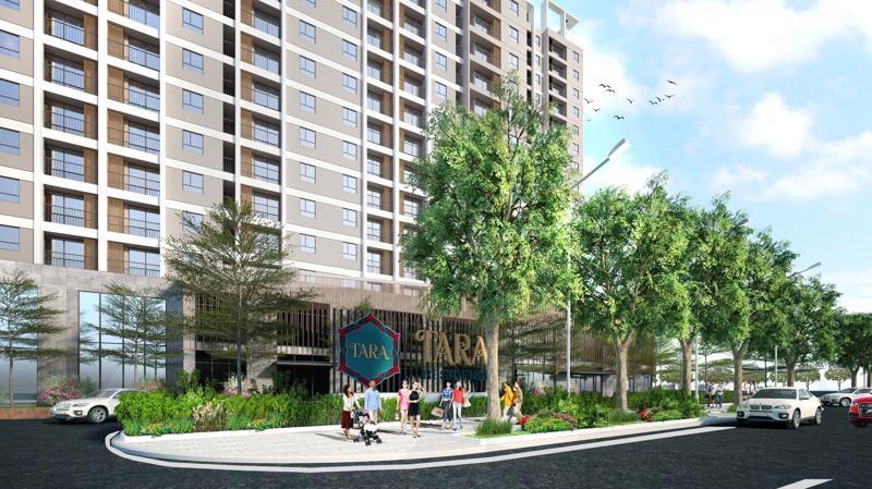 Với mong muốn tạo dựng một tổ ấm, một cộng đồng thân thiện, chủ đầu tư dự án đã thiết kế Tara Residence với quy mô các khối nhà với mật độ xây dựng 40%, 60% diện tích còn lại là dành cho cây xanh và đường nội bộ, tạo nên không gian thoáng đãng.