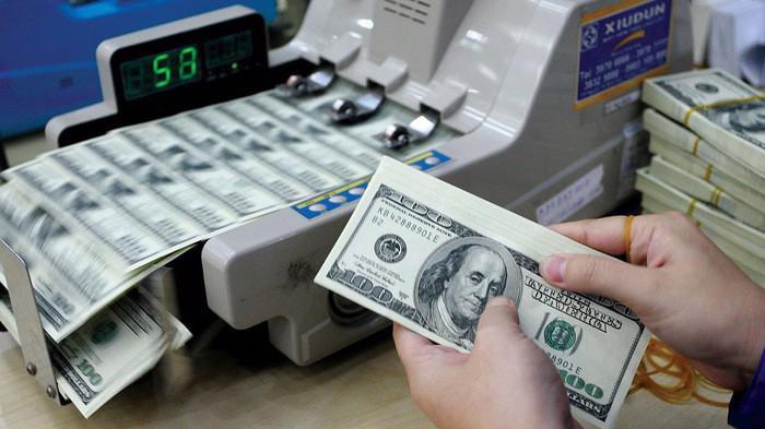 Tỷ giá trung tâm của VND với USD lên mức 23.069 đồng.