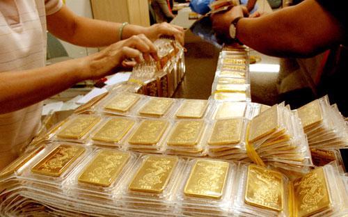 Nguồn cung vàng miếng SJC từ Ngân hàng Nhà nước dự kiến sẽ ra thị trường trong một vài ngày tới.<br>