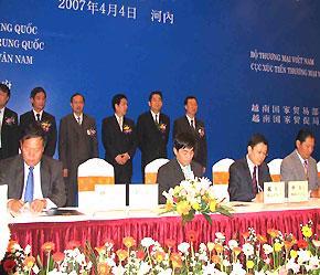 Ngay trong buổi toạ đàm đã có khoảng 10 hợp đồng được ký kết với tổng giá trị lên đến gần 410 triệu USD.