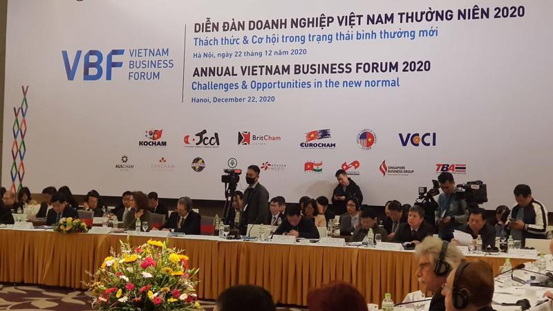 Diễn đàn doanh nghiệp Việt Nam thường niên VBF 2020.