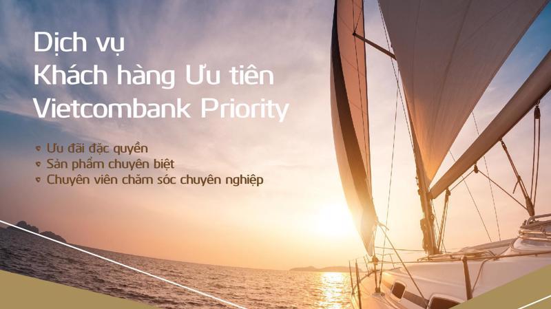 Là hội viên Vietcombank Priority, khách hàng cũng được hỗ trợ dịch vụ qua hotline riêng 24/7 và hoàn toàn miễn phí theo đầu số 1800 1565.