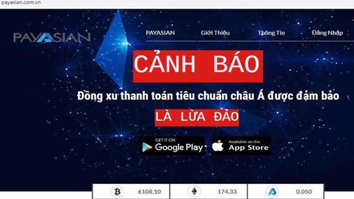 Bộ Công an cảnh báo lừa đảo của ví thanh toán điện tử PayAsian.