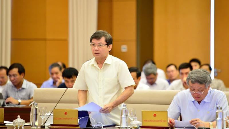 Viện trưởng Viện Kiểm sát nhân dân Tối cao Lê Minh Trí - Ảnh: QP