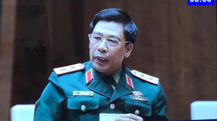 Trung tướng Trần Việt Khoa, Giám đốc Học viện Quốc phòng - Ảnh. VH