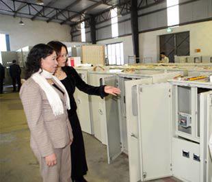 Thiết bị điện đã trở thành các sản phẩm chủ đạo và là thế mạnh của Việt Á.