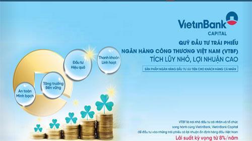 Trang web của Công ty TNHH MTV Quản lý quỹ Ngân hàng thương mại cổ phần Công thương Việt Nam (VietinBank Capital).