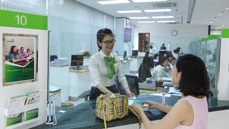 Thương hiệu Vietcombank luôn nhận được sự yêu mến và tin tưởng của đông đảo khách hàng.