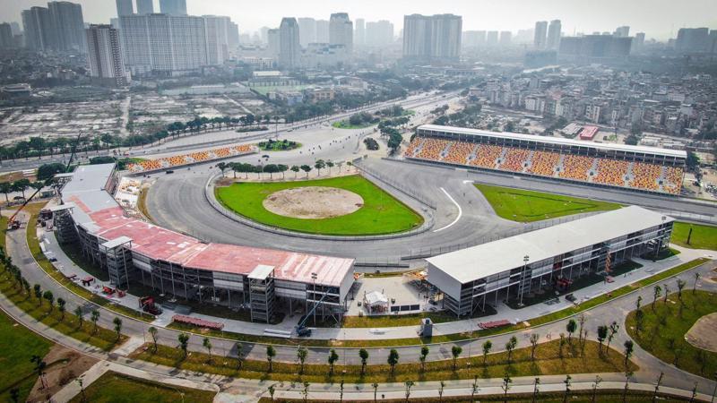Giải đua Công thức 1 tại Việt Nam đã phải hủy vì Covid-19.