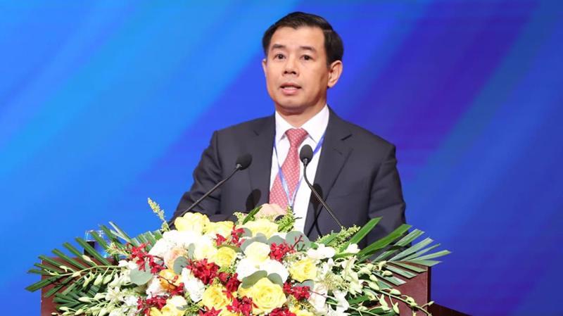 Ông Nguyễn Việt Quang, Tổng giám đốc Tập đoàn Vingroup - Ảnh: Quang Phúc.