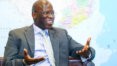 Ông Ousmane Dione, Giám đốc Quốc gia Ngân hàng Thế giới (WB) tại Việt Nam - Ảnh: Tuổi trẻ.