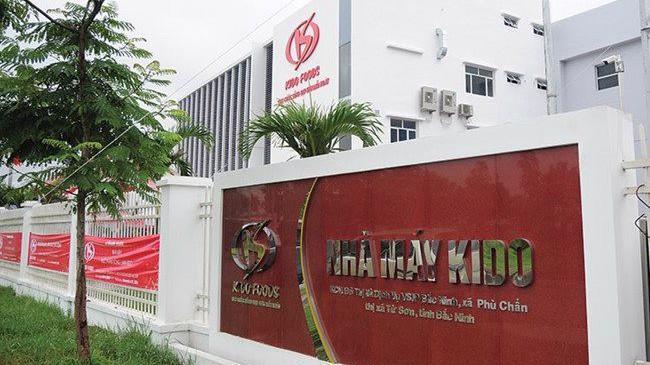 Nhà máy Kido Foods tại Từ Sơn, Bắc Ninh.