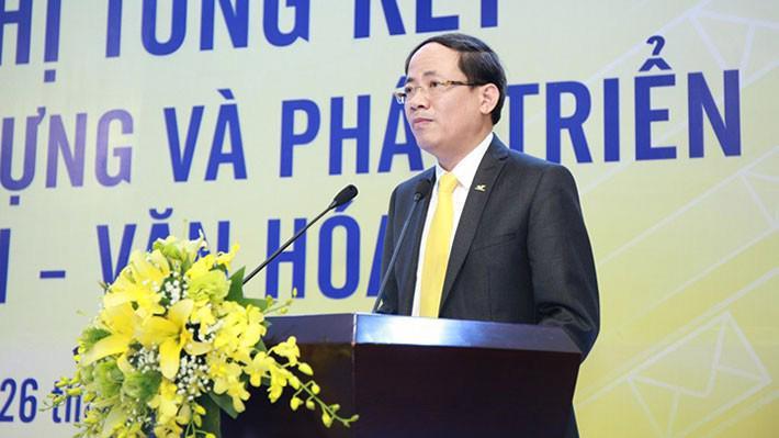 Tân Thứ trưởng Bộ Thông tin và Truyền thông Phạm Anh Tuấn.