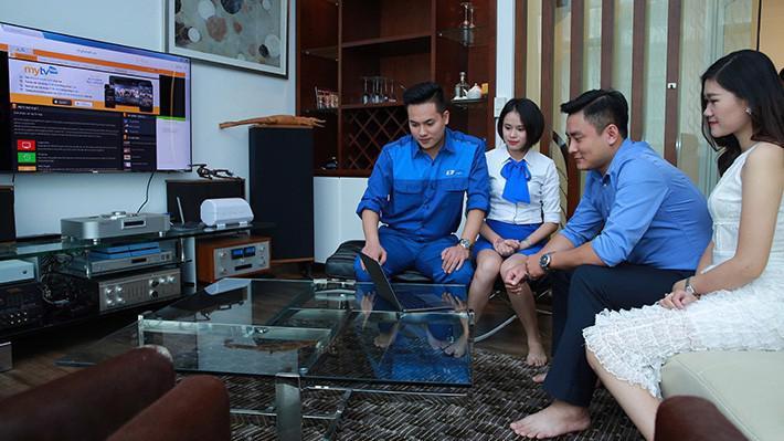 VNPT cung cấp dịch vụ FiberVNN cho gia đình.