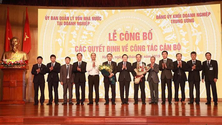 Lễ bàn giao nhiệm vụ Bí thư Đảng ủy, Chủ tịch Hội đồng thành viên Tập đoàn VNPT.