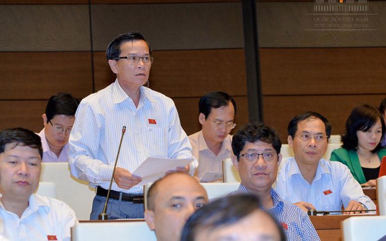 Đại biểu Võ Đình Tín (Đắc Nông) vẫn băn khoăn về quy định nổ súng.