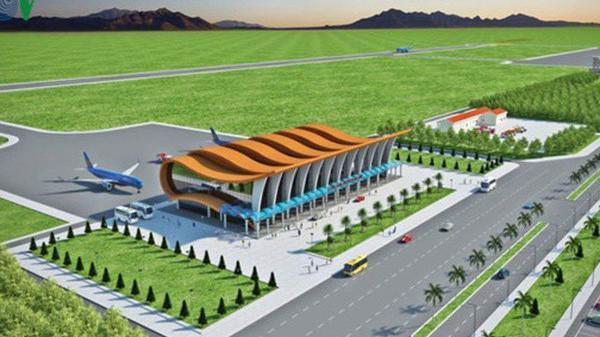 Phối cảnh thiết kế sân bay Phan Thiết.