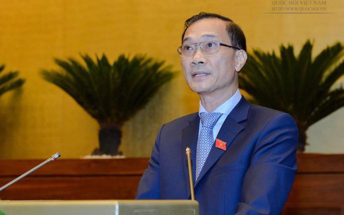 Chủ nhiệm Uỷ ban Kinh tế của Quốc hội, ông Vũ Hồng Thanh.