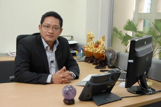 Tân Tổng giám đốc Microsoft Việt Nam Vũ Minh Trí.