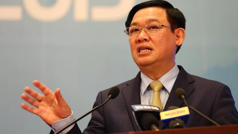 Phó thủ tướng Vương Đình Huệ, Trưởng Ban Chỉ đạo Đổi mới và phát triển kinh tế tập thể, hợp tác xã.