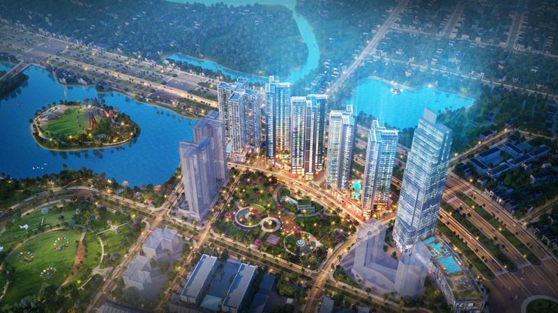 Eco Green Saigon hiện là dự án bất động sản cao cấp đáng chú ý nhất và lớn nhất hiện nay với quy mô 14,36 ha - nằm trên mặt tiền đường Nguyễn Văn Linh, quận 7, Tp.HCM.