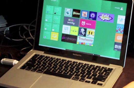 Macbook Pro treo liên tục khi sử dụng hệ điều hành Windows 8 - Ảnh minh họa.