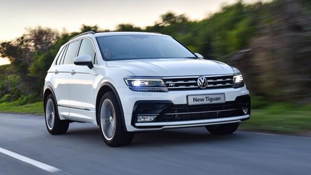 Mẫu xe Volkswagen Tiguan.