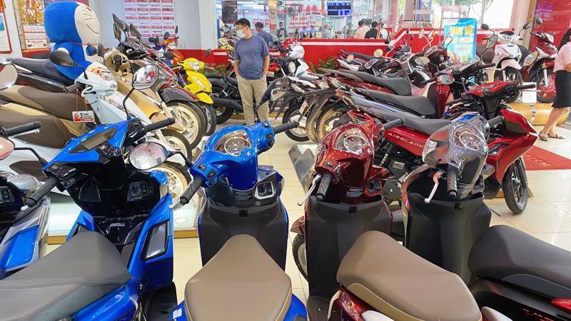 Tỷ lệ sụt giảm sức mua xe máy mang thương hiệu Honda chính là tỷ lệ sụt giảm chung của toàn thị trường.