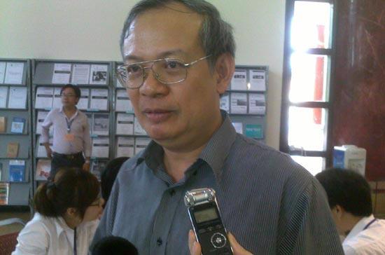 Viện trưởng Viện Nghiên cứu lập pháp Đinh Xuân Thảo - Ảnh: Hải Hà.