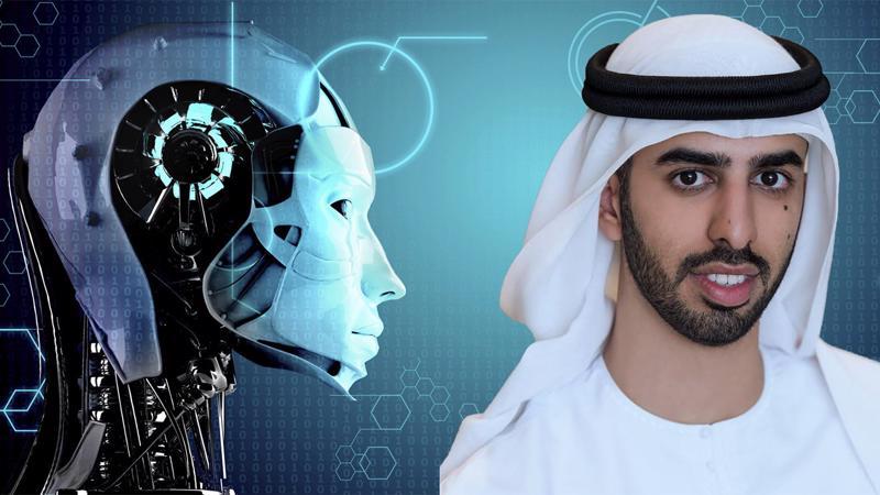Omar Bin Sultan Al Olama, 27 tuổi, tân Bộ trưởng Trí tuệ nhân tạo của UAE.