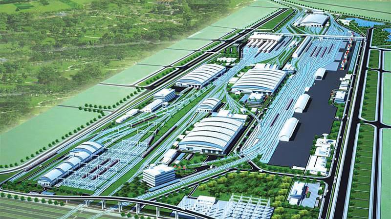 Phối cảnh Dự án đường sắt đô thị số 1 Yên Viên - Ngọc Hồi.