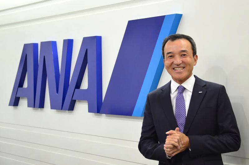 Ông Fujisaki Ryoichi, trưởng đại diện hãng hàng không Nhật Bản All Nippon Airways (ANA) tại Việt Nam.