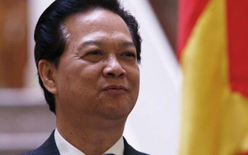 Thủ tướng Chính phủ Nguyễn Tấn Dũng.<br>