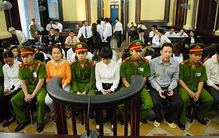 Bị cáo Huyền Như tại tòa.
