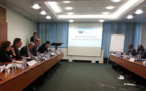 Diễn đàn WSBI tháng 11/2012 tại Brussels (Bỉ).<br>