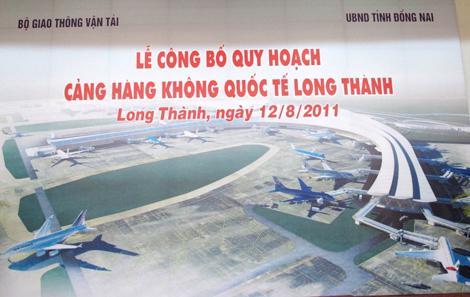 Sáng 4/6, Quốc hội sẽ thảo luận ở hội trường về chủ trương đầu tư xây dựng dự án cảng hàng không quốc tế Long Thành.