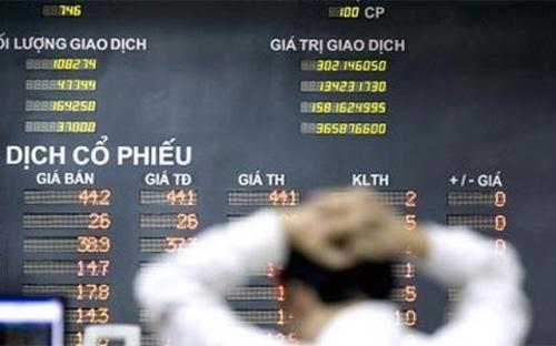 Ảnh hưởng của giá dầu và sự kiện biển Đông đã ghi dấu ấn đậm nét lên thị trường chứng khoán 2014 - Ảnh: CNBC.<br>