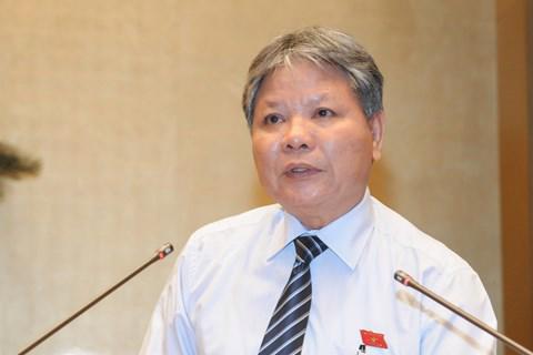 Bộ trưởng Bộ Tư pháp Hà Hùng Cường.