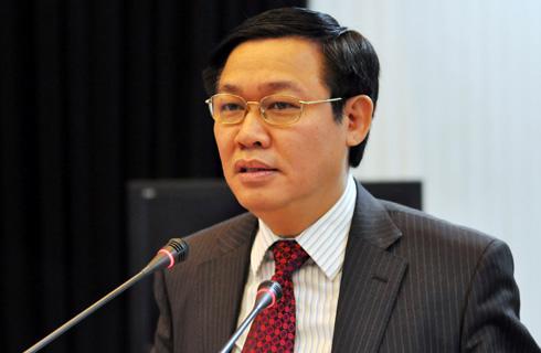 Trưởng ban Kinh tế Trung ương Vương Đình Huệ.