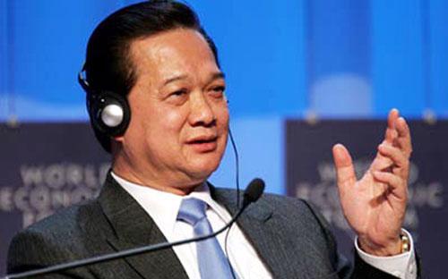 Thủ tướng Nguyễn Tấn Dũng dự báo, nền kinh tế Việt Nam sẽ tăng  trưởng 5,5% trong năm tới, cao hơn mức tăng trưởng dự báo 5,2% cho năm  2012.