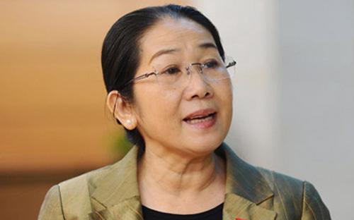 Đại biểu Quốc hội Võ Thị Dung (Tp.HCM) - Ảnh: VOV.<br>