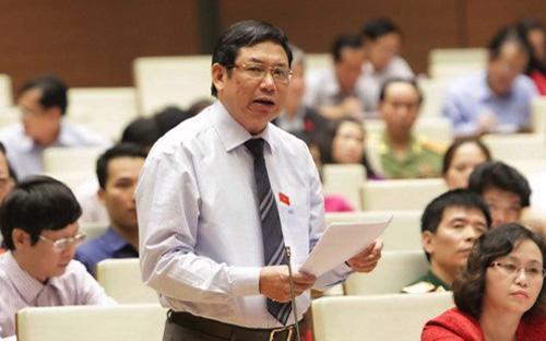 Đại biểu Quốc hội Lê Nam (Thanh Hóa) - Ảnh: NLĐ.<br>