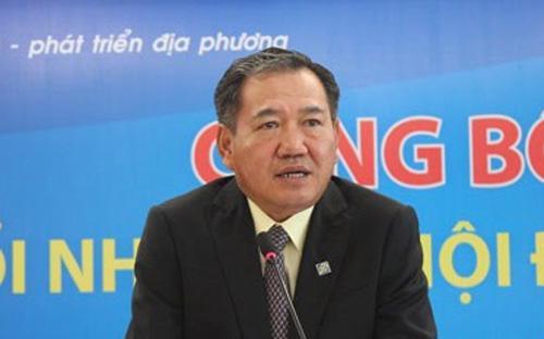 Ông Phạm Hữu Phú, Tổng giám đốc Eximbank.