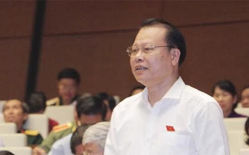 Phó thủ tướng Vũ Văn Ninh tại nghị trường Quốc hội.<br>